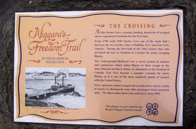 The Crossing Plaque